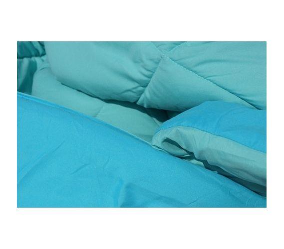 Caribbean Ocean/Aqua Reversible College Comforter - Twin XL