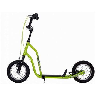 """koloběžka Calypso 15 12"""" zelená neon"""