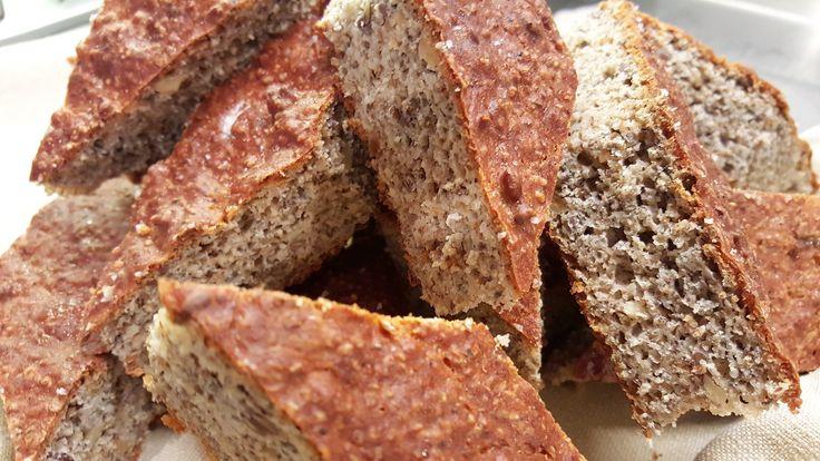 Focaccia di fagioli dell'occhio al sale grosso – Ricette Dieta Gruppo Sanguigno