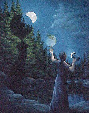 Rob Gonsalves - New Moon Eclipse