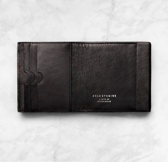 Carbon Wallet by Acne