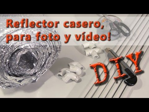 #DIY #bricolaje #bricolage #reflector #fotografia #video #reflector_plata #reflector_plateado