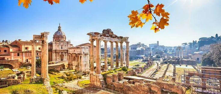 """Roma es conocida como la """"Ciudad Eterna"""" porque en ella el tiempo parece haberse parado hace siglos. Sus monumentos y los restos de imponentes edificios hacen q"""
