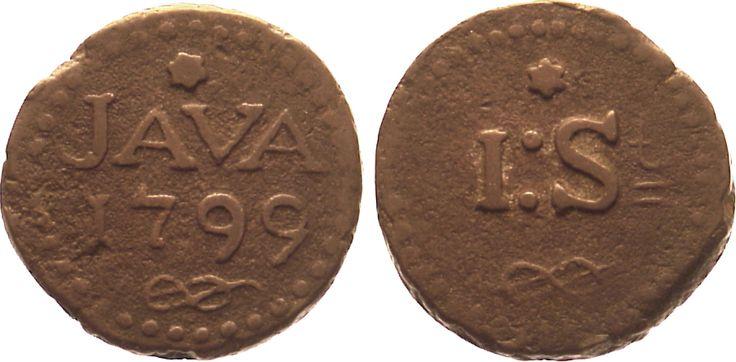 Notmünze zu 1 Stuiver 1799 Indonesien - Java Netherlands East Indies, Java, 1 Stiver 1799 very fine