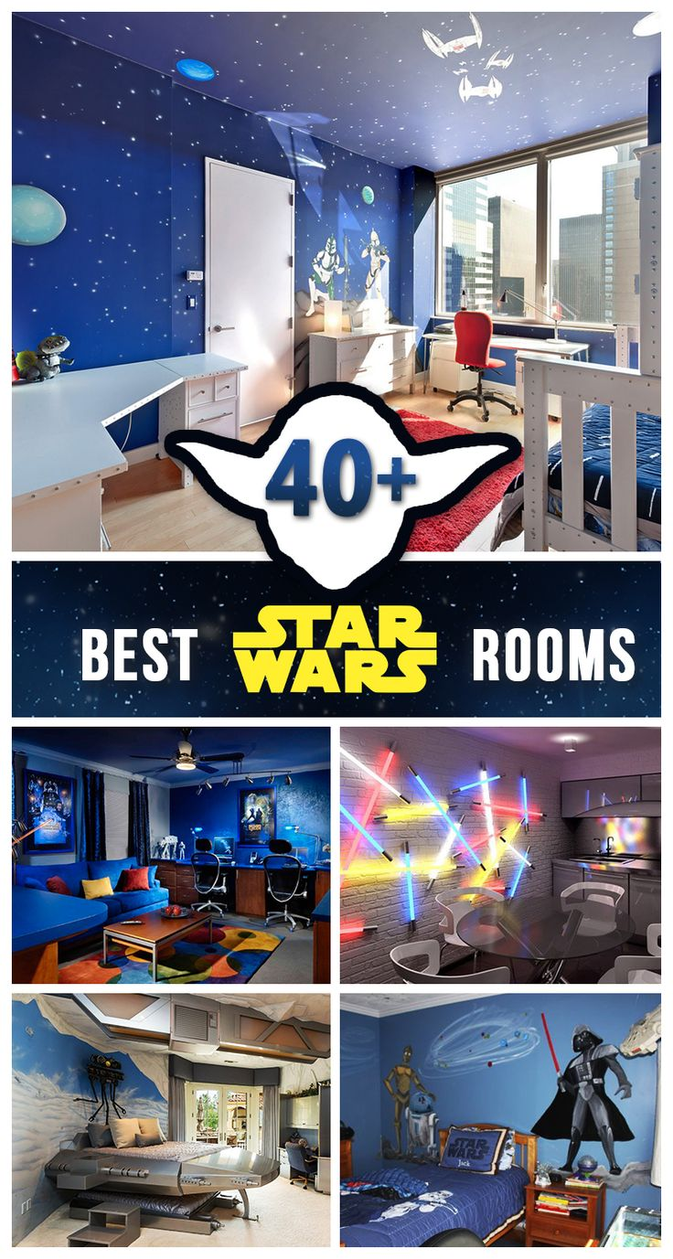 Star Wars room decorations and designs