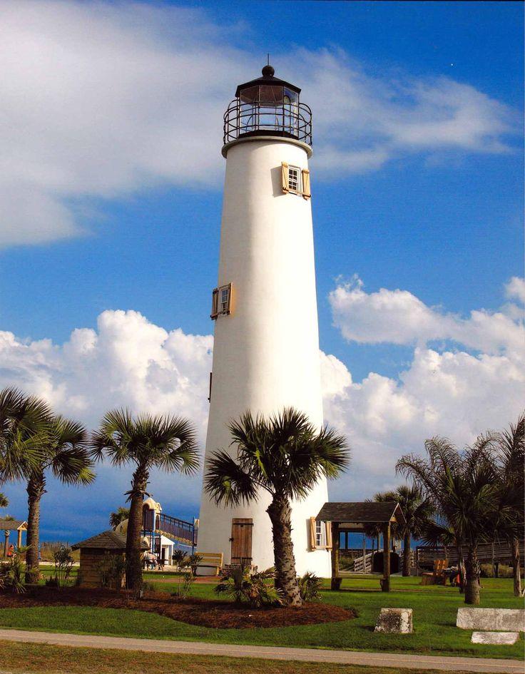 Florida's Cape St. George Lighthouse.