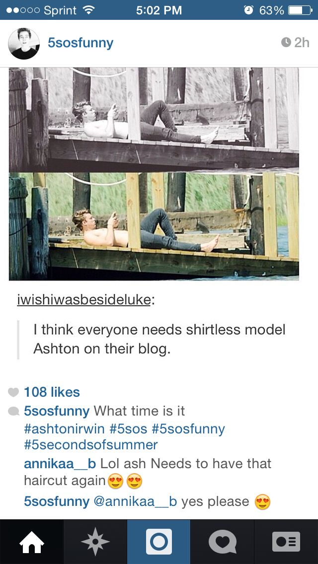 I need shirtless model Ashton in my life not just my blog