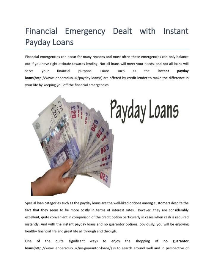 Get online payday loans in UK. There are no issue with unemployed or no guarantor. Click here for more details: http://goo.gl/wOaxpS