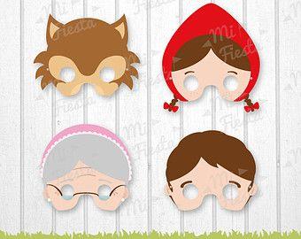 Mascaras de piratas descarga directa por MiFiesta en Etsy