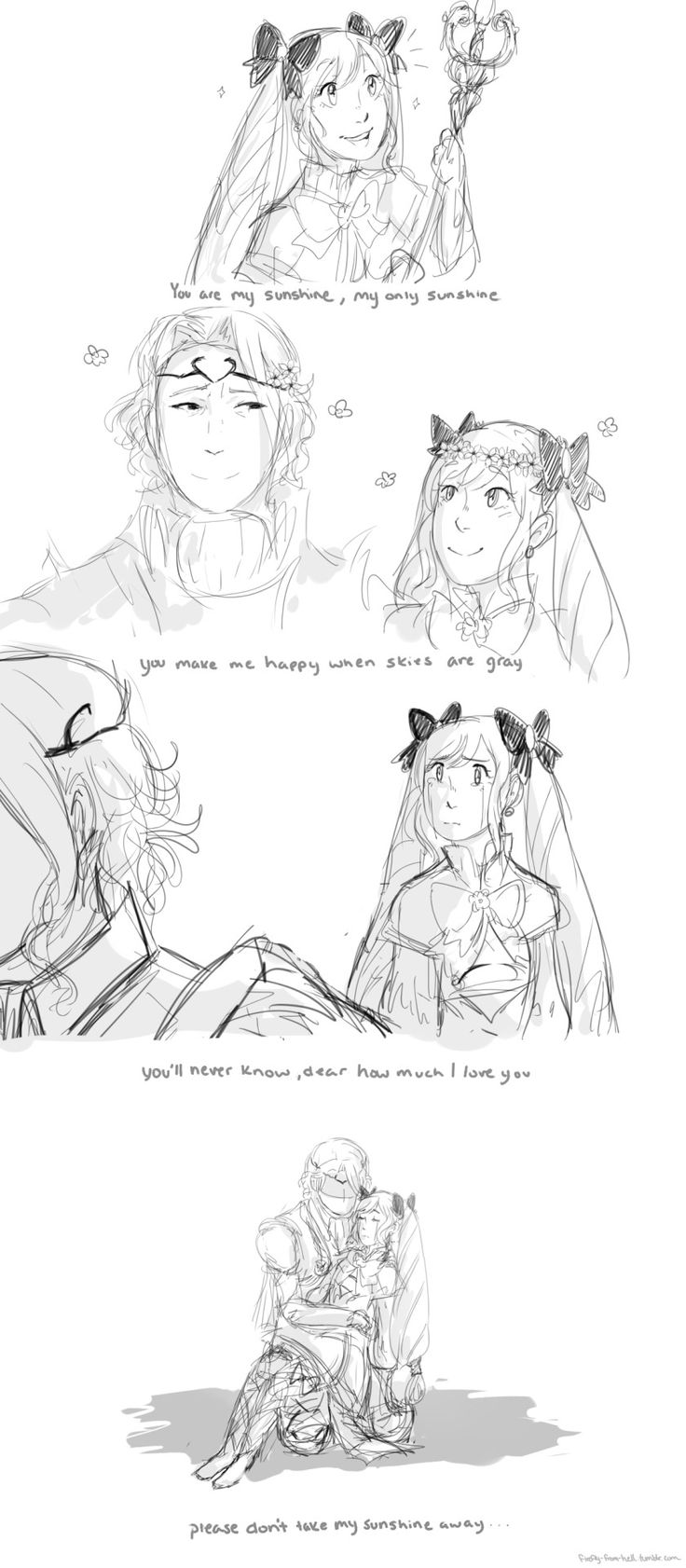 FE:Fates - Elise and Xander/Marx Lost my sunshine (this song is always so sad whyyyy)