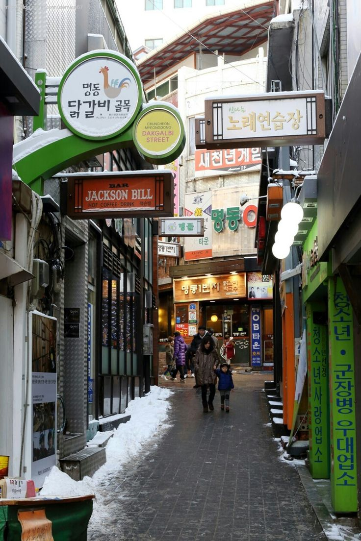 춘천 명동 닭갈비 Chuncheon,Korea