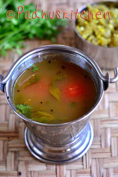 Padhuskitchen: Kollu Rasam-Horse Gram Rasam Recipe (Soup)-Ulava C...