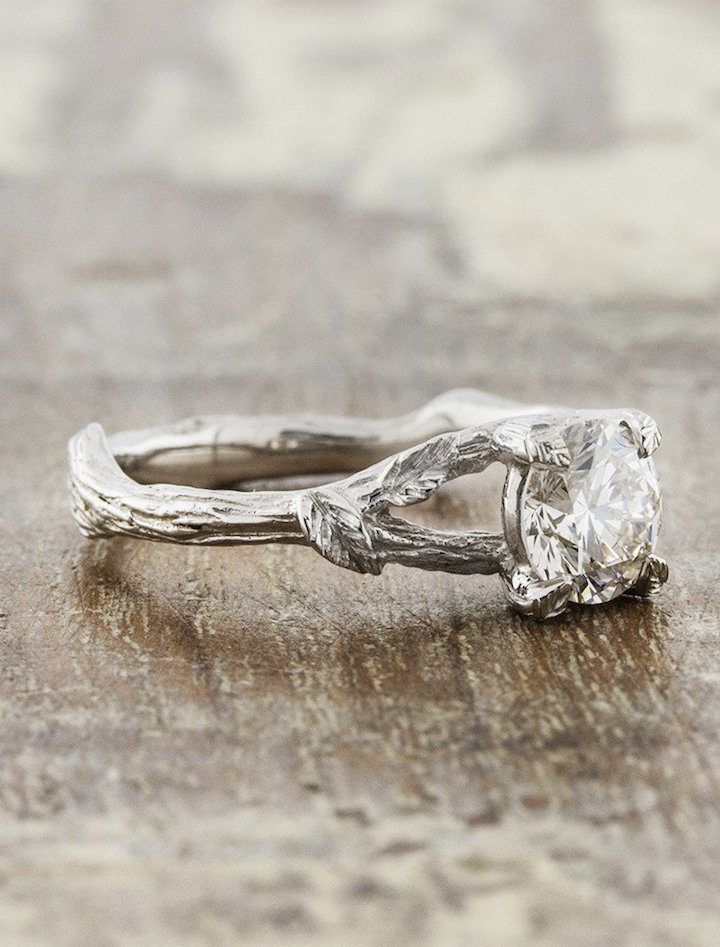 Perfect Featured engagement ring Ken u Dana Design click to see more details