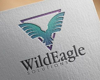 Logo Design - Eagle Solutions This stunning logo design was created by AMCstudio