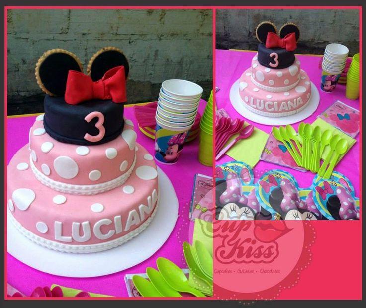 Minnie.. Diseño Cupkiss,  Bucaramanga - Colombia