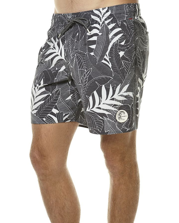 Features Above knee fit Colour: Grey AOP Material: 74% Polyester, 14% Cotton, 12% Elastane Elastic waist with drawstring Mesh lined hip pockets Dual back pockets; one with zipper closure All over print Woven logo labelSize + Fit Guide Model's Height: 185cm Model's Chest: 105cm Model's Waist: 89cm Model's Sleeve: 73cm Model wears a Size: M/32