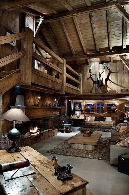 Eliminando cervo e corna una casa di montagna perfetta