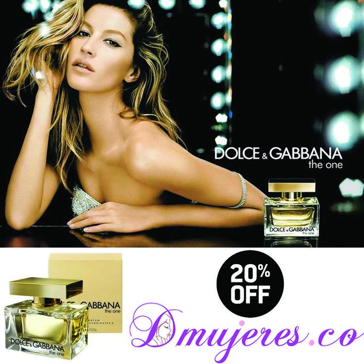 El regalo ideal para esta navidad lo encuentras en #Dmujeres !! perfume Dolce & Gabana The One con 20% 0FF, Adquiérelo aquí: http://ow.ly/dMMq306THv3