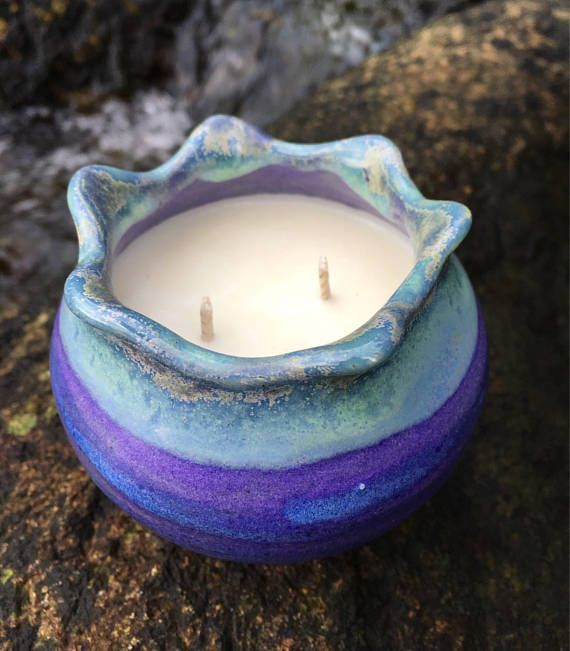 Our candles are perfect for wedding favours, birthdays, bridal showers, thank you gifts, teacher presents, Mother's Day, Christmas and other celebrations. Essential oil and organic soy wax candles are a natural way to scent and perfume your home. These aromatherapy candles, pottery
