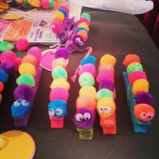 Girl Scout Swaps - Caterpillars