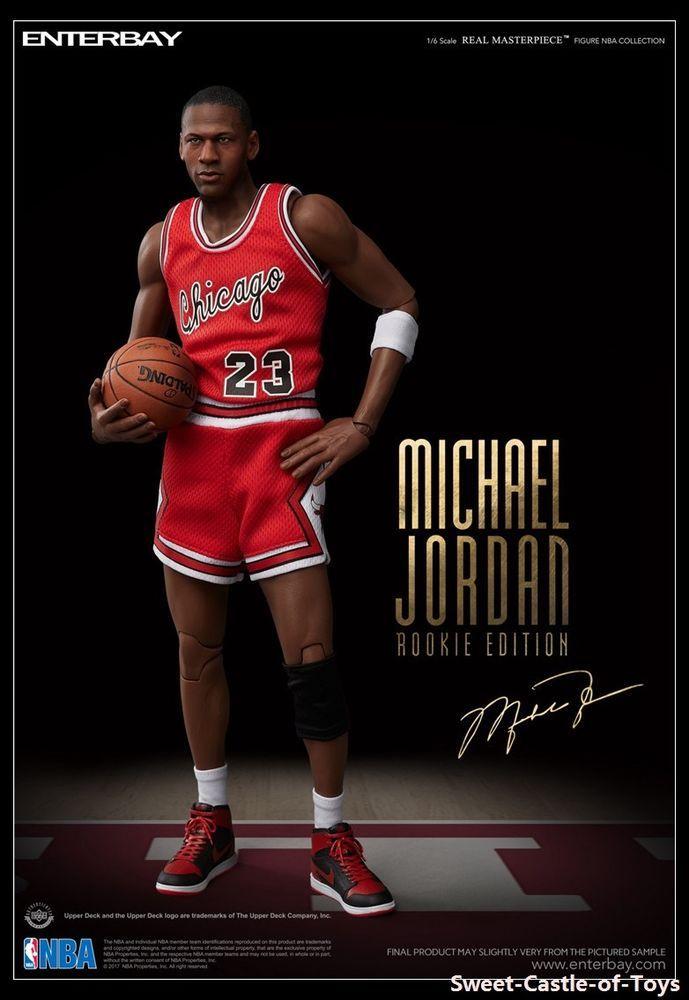788ee5c1654 1 6 Enterbay NBA Michael Jordan Chicago Bulls Rookie Edition Limited LTD  Edition  MichaelJordan  ActionFigures  Statues
