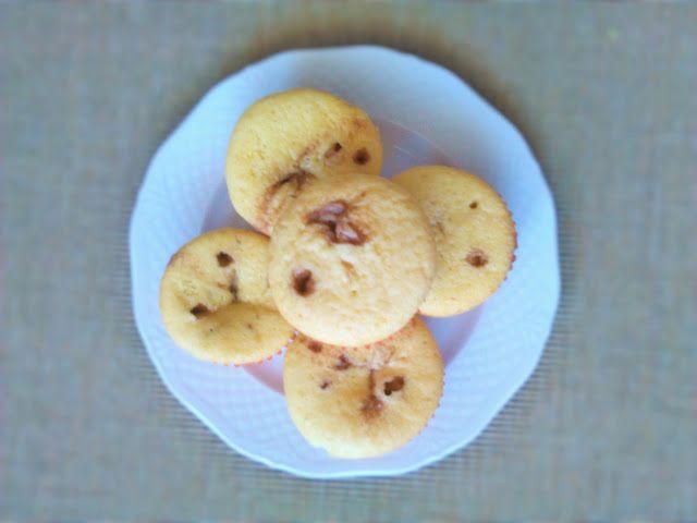 Messy Head: Przepis na... ♡ Słodkie muffiny z nutellą