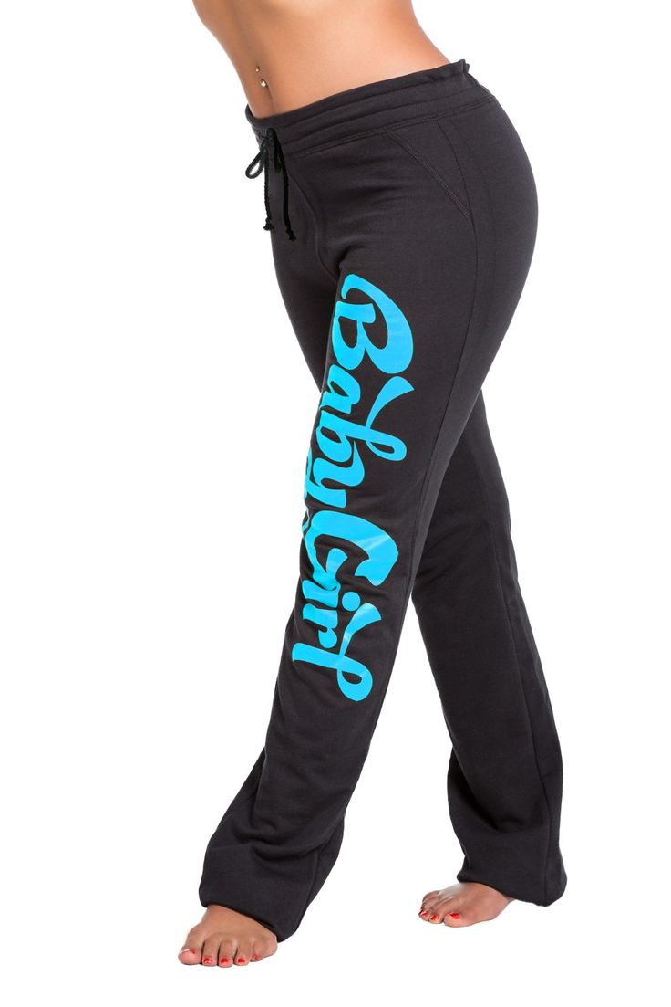 Shemar Moore Merchandise Baby girl yoga pants blue