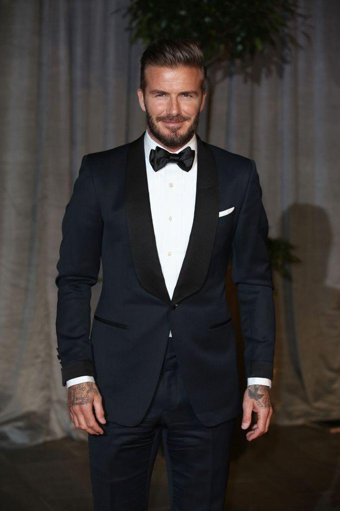 David Beckham Wears Tom Ford Tuxedo at 2015 BAFTAs   UpscaleHype