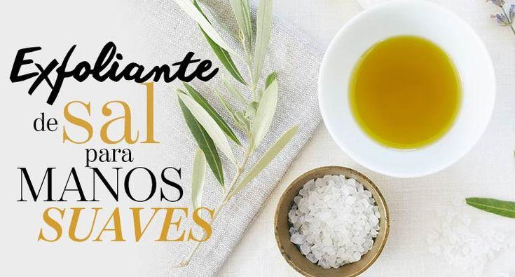 Exfoliante de sal para manos suaves | The Beauty Effect