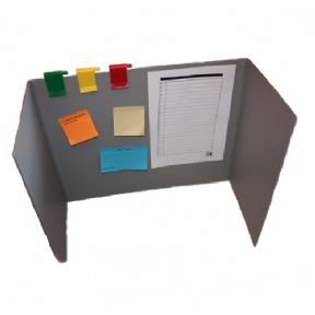 This Privacy board will help a child concentrate on their work by eliminating sensory distractions.