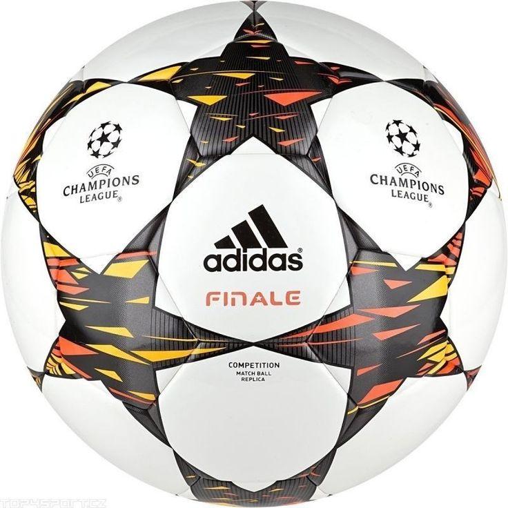 Piłka nożna adidas Finale 14 Competition 5.Piłka adidasa to idealny prezent dla każdego fana piłki nożnej. Najnowsza seria piłki wyprodukowanej z okazji Finału Ligi Mistrzostw w sezonie 2014/2015. #pilkanozna #pilkakolekcjonerska #sportyduzynowe