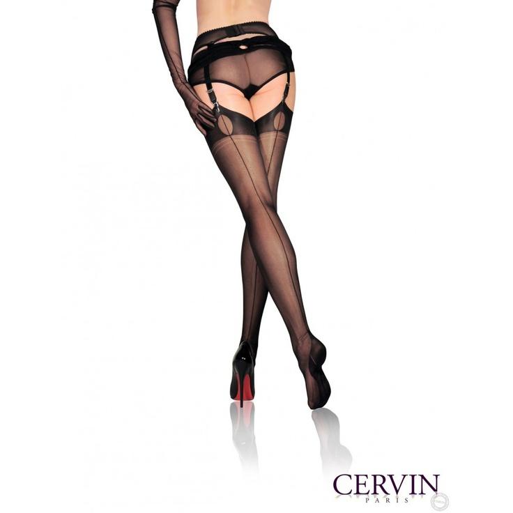 CERVIN, le fabricant français de bas et collants #vintage $30.10€ http://www.cervin-store.com/fr/bas-couture-fully-fashioned/73-bas-couture-liberation-45.html