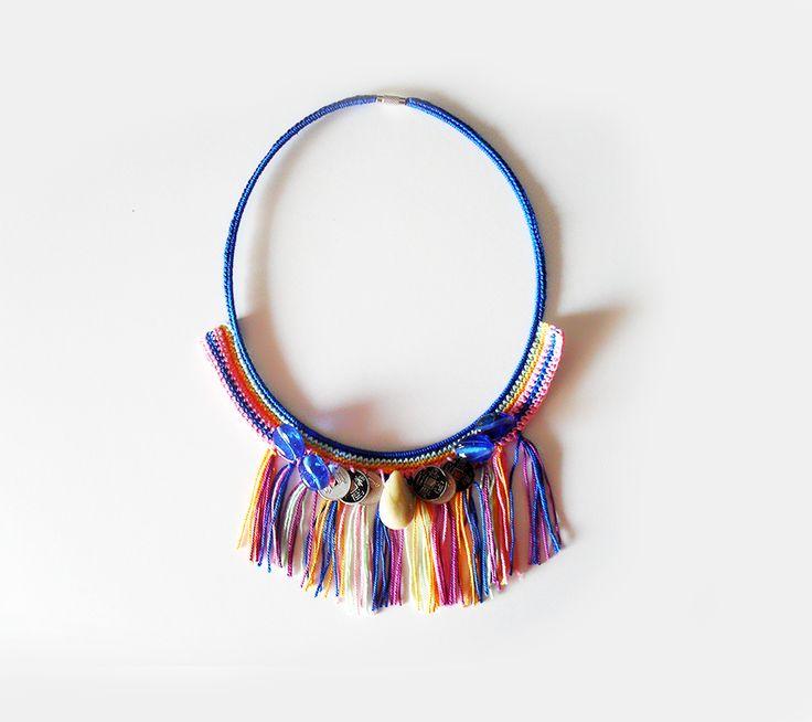 Fringes necklace #boho #boheme
