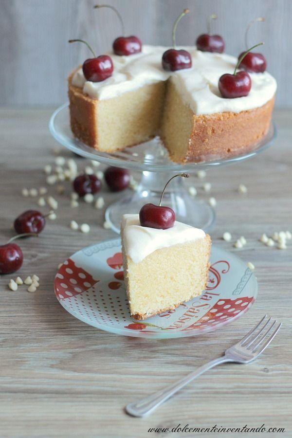 Dolcemente Inventando : Mud cake al cioccolato bianco e ciliegie