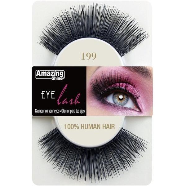 Buy Amazing Shine Human Hair False Eyelashes Choose from 4 Styles Onli - Cosmetics4uOnline.co.uk