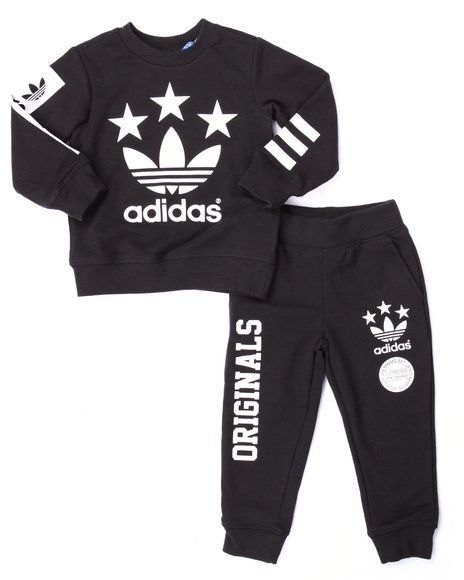 Adidas - Mini Tracksuit (Infant-4T)  ae3ff29502c9