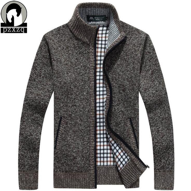 High quality Brand New Men's Cashmere sweater zipper long sleeve wool sweater men fashion warm knitwear mens Cardigan sweaters