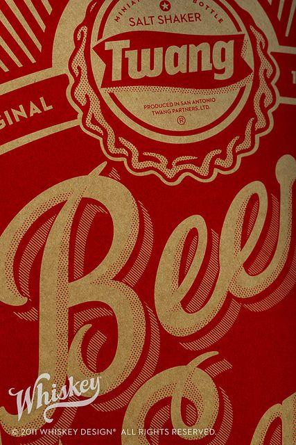 Twang Beer Salt Shipper by Whiskey Design