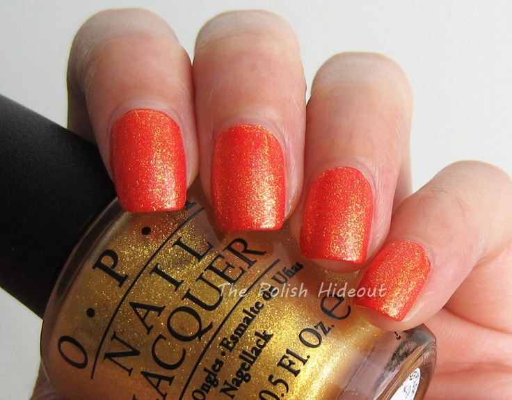 OPI Oy-Another Polish Joke over My Paprika Is Hotter Than Yours - Euro Centrale Collection