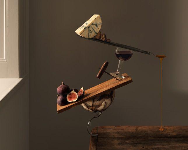 food art by carl kleiner