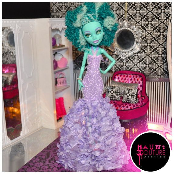 Monster High Lovely in Lilacs Honey Swamp on Etsy, $20.00