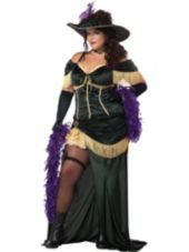Adult Plus Size Saloon Madame Costume - Party City