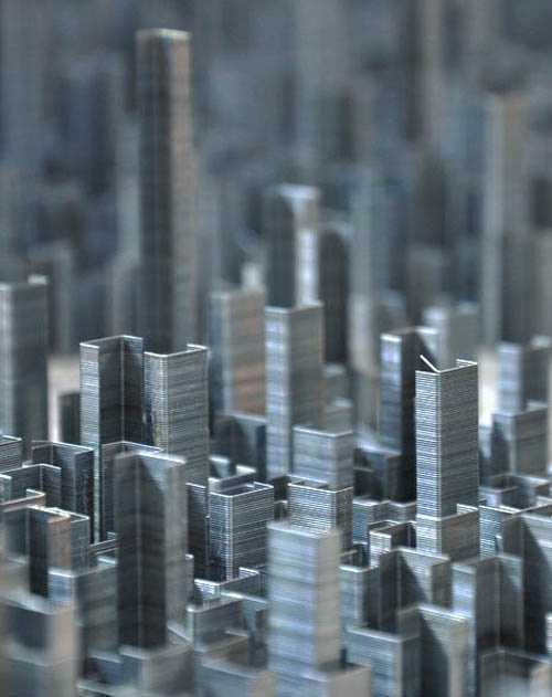 Staple Skyscrapers: From Happy Mundane
