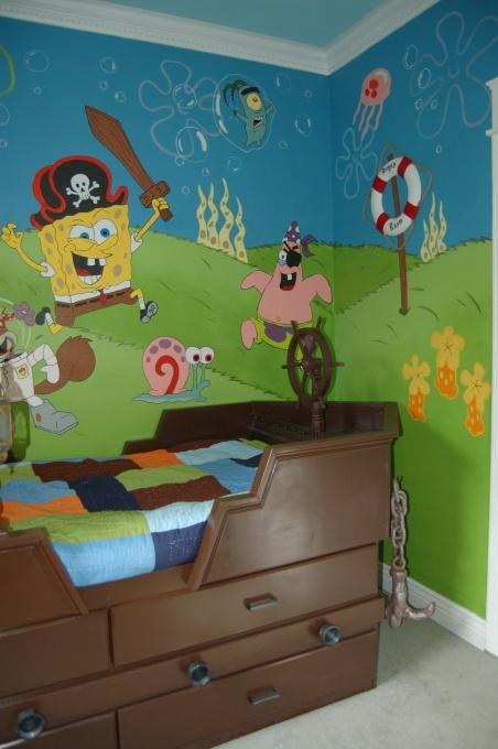 Diegos SpongeBob Pirate Room