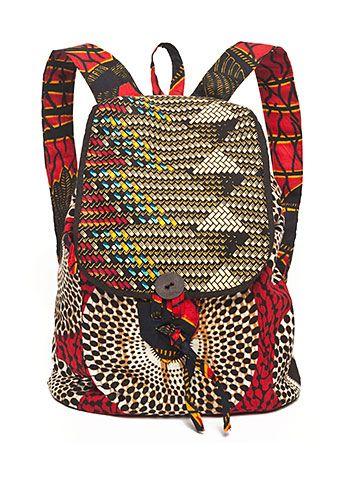 ♥Indego African Backpack
