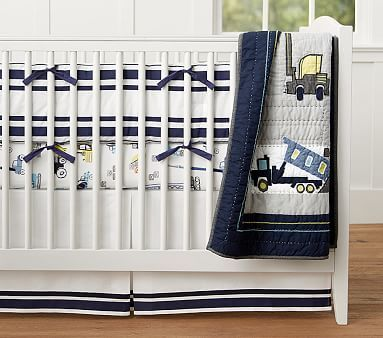 Construction Nursery Bedding #pbkids