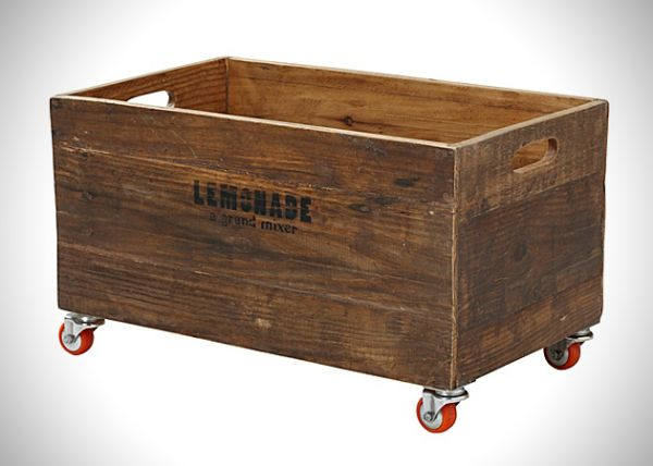 Винтажные ящики для хранения вещей. Идеи для дизайна интерьеров | Идеи вашего дома | Архитектура и интерьер