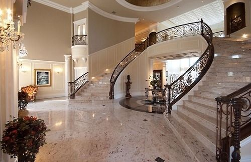 yes please.: Future Houses, Entrance Way, Dreams Houses, Houses Interiors, Dreams Home, Grand Entrance, Staircase, Great Stairca, Stairs Cases