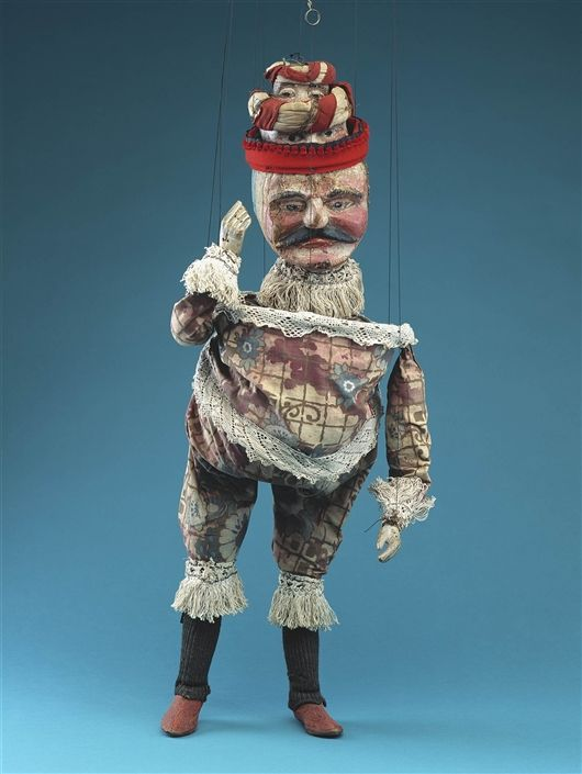The Terrible Turk -The Detroit Institute of Arts (DIA) Paul McPharlin Puppetry Collection