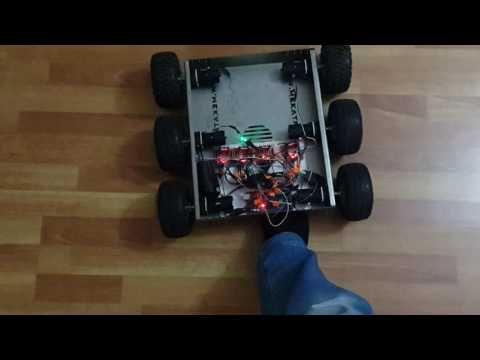 Arduino mekatronik Malatya robot hakan keşif aracı fpv electronic